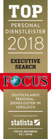 Top Personaldienstleister Executive Search 2018 Logo
